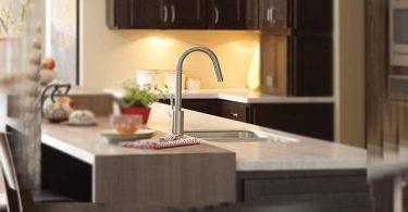 Moen 7565SRS Align One-Handle High-Arc Pulldown Kitchen Faucet