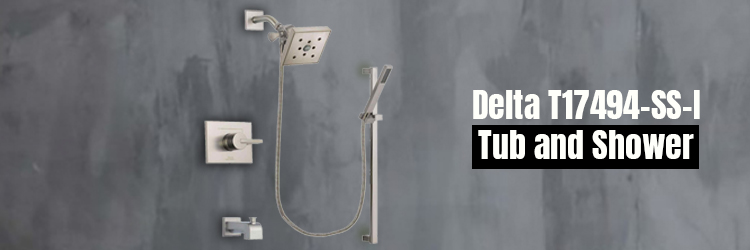 Delta T17494-SS-I Tub and Shower