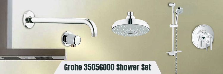 Grohe 35056000 Shower Set
