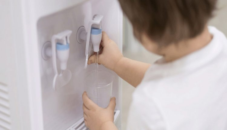 how to clean a water dispenser