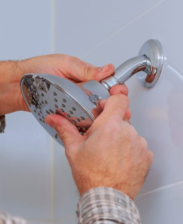 How to Clean a Rainfall Shower Head- Step by step