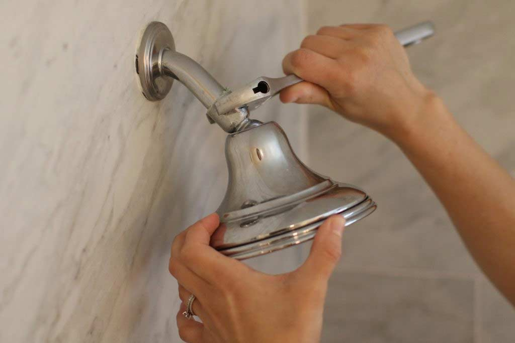 Install the Shower Head
