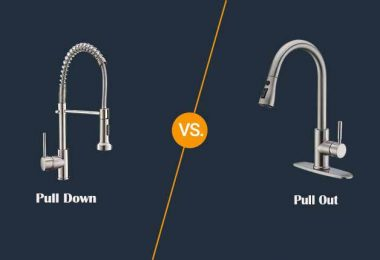 Pull Down vs Pull Out Faucet