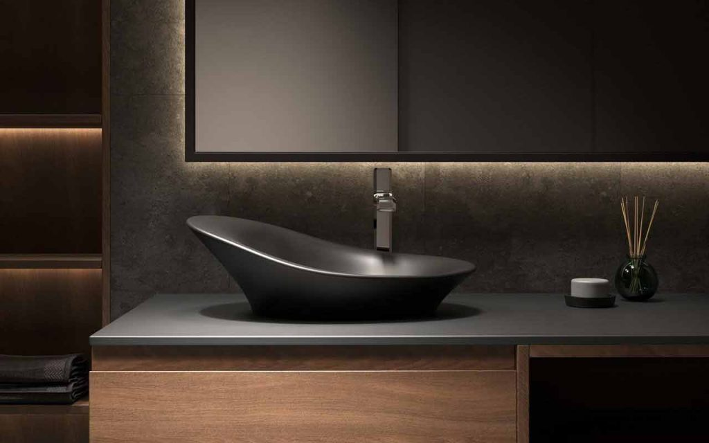 How to Clean Stone Bathroom Sinks