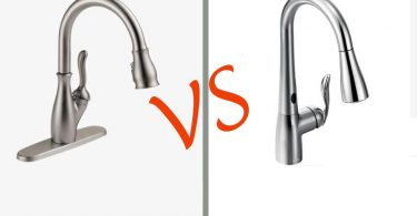 touch vs touchless faucet